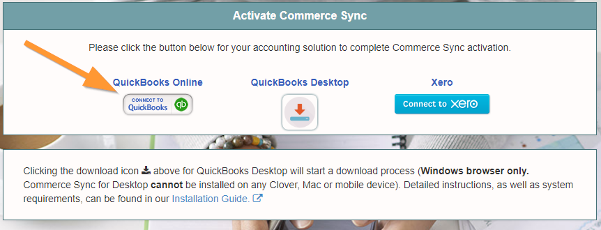Clover to QuickBooks Online Install Guide – Help Center