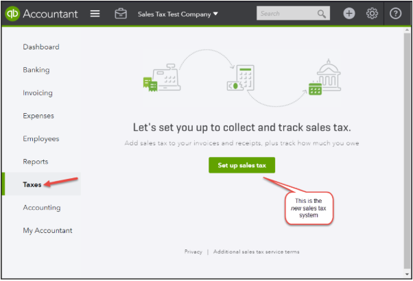 Setting Up Sales Tax in QuickBooks Online – Help Center